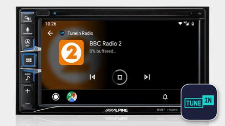 TuneIn Radio - INE-W611D