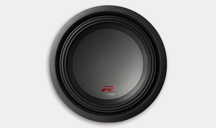 R-Series Subwoofer: More Rigid Dust Cap