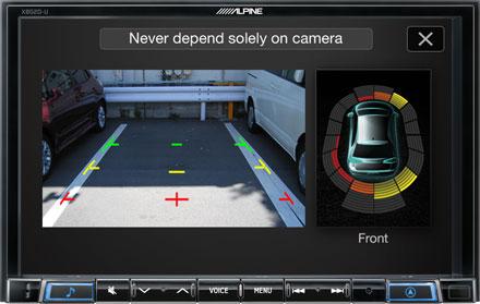 Drive-Assist Cameras - X802DC-U