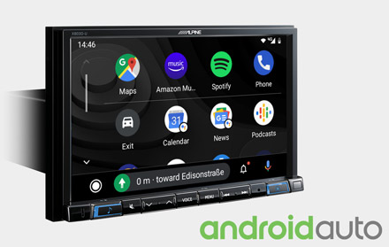 Works with Android Auto - X803D-U