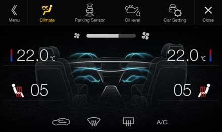 Audi A4 - X701D-A4: Driver Assistance - Climate