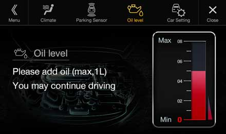Audi A4 - X701D-A4: Warning Messages - Vehicle Settings