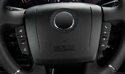 Fiat Ducato - Steering wheel remote buttons