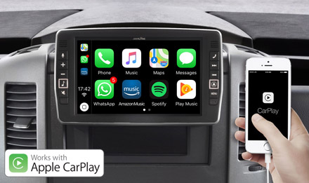 Mercedes Sprinter - Works with Apple CarPlay - X902D-S906