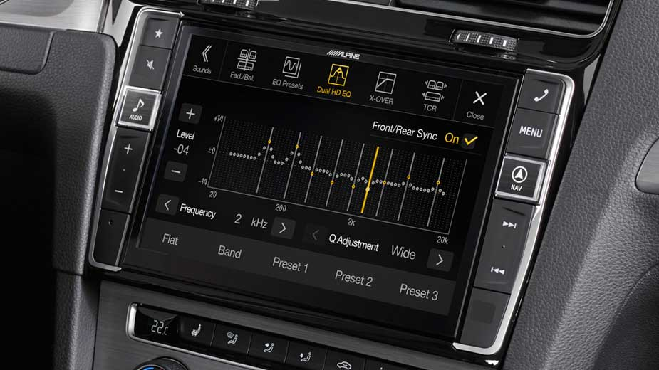 Golf 7 - Professional Equalisation - X901D-G7