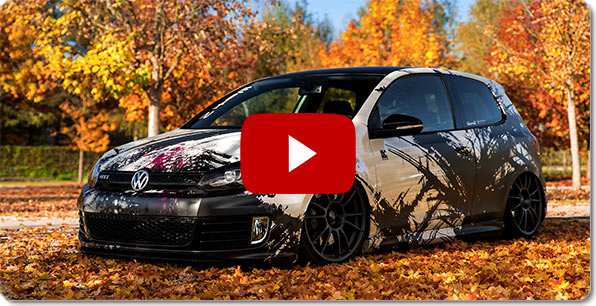 Alpine Style navigacija, skirta Volkswagen ( VW Golf 6 ) | Video
